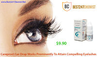 Careprost eye drops is used for long, dark and dense eyelashes. Generic drug present in Careprost is Bimatoprost eye drops, which is used to treat open angle glaucoma and hypotrichosis. Buy Careprost eye drops online in USA - Best247Chemist - http://www.b...