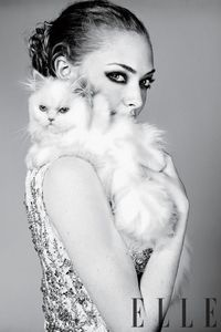 A sneak peek of our April cover story with 'Red Riding Hood' star Amanda Seyfried