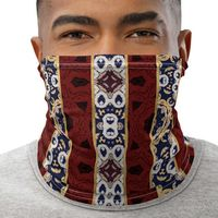 Mask Neck Gaiter Unisex Face Cover | Multi-functional accessory| Boho Chic Floral Bandana Headband Balaclava Beanie for Women and Men $17.95