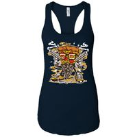 Pizza Gangster - Pizza Art - Women's Racerback Tank Top $19.97