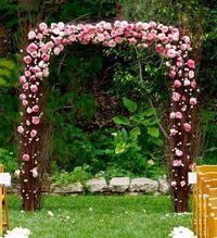 [The] Nettleton Hollow [Blog]: Birch Wedding Arch