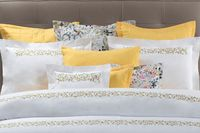 Selvaggia Embroidery Bedding by Dea Linens $398.00