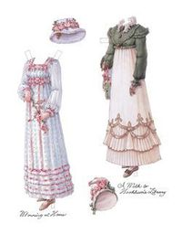 Regency Lady of Quality - A bunch of paperdolls