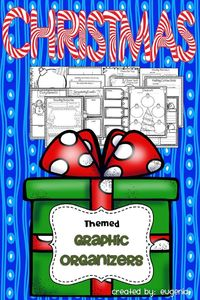 Tis the season to be jolly! How can you not be when you check out this product!?! Here you'll find 28 graphic organizers and reading responses. All you have to do is provide your favorite holiday read alouds!