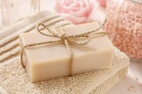 Unscented Vegan Organic Soap $9.99