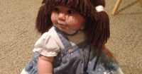 Cabbage Patch Doll - DIY Halloween Costume This is soooo cute I had topostit!!!!