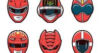 """Red �€"""" Super Sentai Series by Mark Eastwood - Canberra, Australia 