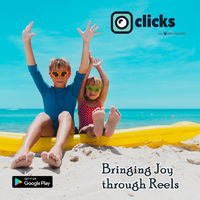 Short Video sharing Platform where anyone can share and watch videos latest fashionable videos that are currently trending in India and are being loved by multiple people Now make your profile and be a star of your own with Clicks #trending #viral #love ...