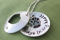 Always in My Heart Pet Locket Necklace by akaoriginals on Etsy, $65.00