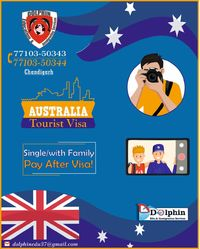 If you want to go to Australia with family or single for spending a beautiful vacation with new memories then contact us 77103-50344, 77103 -50343 to take a tourist visa Australia.
