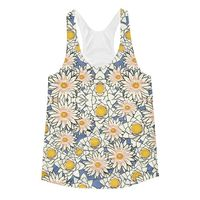 Exclusively from And Above All YOGA --- �€œSpring Petals�€ Women's Racerback Tank Top for just $34.00 with FREE SHIPPING