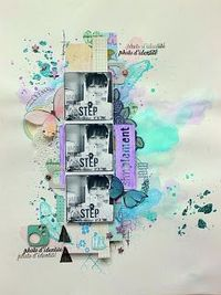 #papercraft #scrapbook #layout -
