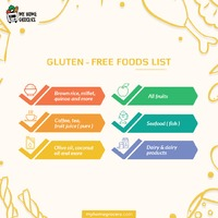 Thinking to start Gluten-free diet,Here is the list of healthy and delicious foods that are naturally gluten-free. 