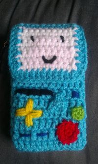 Crocheted BMO 3DS case by Kitlaurie We were bound... - Tiny Cartridge 3DS - Nintendo 3DS, DS, Wii U, and PS Vita News, Media, Comics, & Retr...
