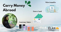 Carry Money Abroad- Wire transfer, Forex Card, Currency Notes