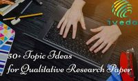 50+ Topic Ideas for Qualitative Research Paper on Education field Writing a research paper is a time consuming task which incorporates the included time of doing the research and data gathering. Needless to say, it is a wearying process which often bothe...