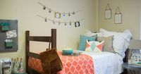It's almost time for the kiddos to be headed back to school, and for some of you, this means it's about time to move into your very first dorm room. Dorms can b