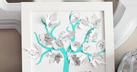 Thankful Tree made with Cricut Explore -- The Crafting Chicks. #DesignSpaceStar Round 5