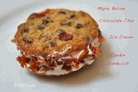 Maple Bacon Chocolate Chip Ice Cream Sandwich Cookies...OH.MY.GOOD.GOD!!!!