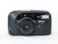 Nikon ZoomTouch 470 AF 35mm Film Camera with Nikon Zoom 35-70 Lens, Macro and Date Back Module $62.00