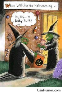 Funny halloween witches 2014 comics