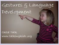 SLP Corner: Using Gestures to Predict and Promote Language in Children - Pinned by