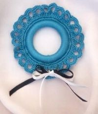 Crocheted christmas ornament - symbols only