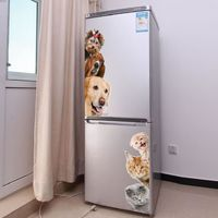 Funny 3D Dogs Cats Wall Stickers $7.95
