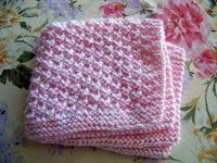Box Stitch Baby Blanket AllFreeKnitting.com - Free Knitting Patterns, Knitting Tips, How-To Knit, Videos, Hints and More!