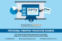 Create an attractive and Professional PowerPoint Presentations with the help of PowerfulPoints Presentation Templates and PPT Slide Designs. Their experts also give Corporate Presentation Training to expand your presentation strengths and overcome your pu...