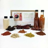 Deluxe Hot Sauce Making Kit $50.00