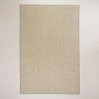 One of my favorite discoveries at WorldMarket.com: 6'x9' Blue Bordered Chunky Jacquard Weave Sisal Rug