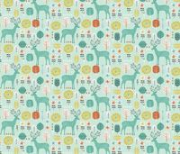 Retro Deer fabric by bethan janine on Spoonflower - custom fabric