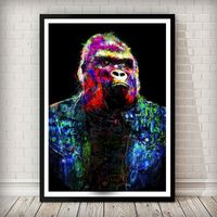 Animal Canvas Wall Art: