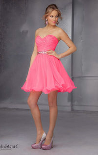 2014 Mori Lee 9281 Sweetheart Mini Homecoming Dress by Sticks and Stones