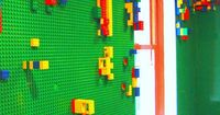 Want your kid to have the coolest bedroom around? Install a LEGO wall!