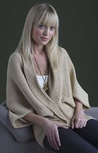 Curtain Call Shrug - free pattern