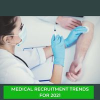 Medical recruitment firms have also seen an increase in the demand for travel nurses and clinicians. Most people are staying away from hospitals and doctors' offices unless it is absolutely necessary because those are the same places where someone s...