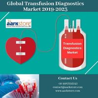 The research report on the global transfusion diagnostics market offers information on new product development opportunities for molecular blood typing, grouping and infectious disease NAT assays and instrumentation with significant market appeal. Know mo...