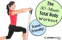 Work your whole body in no time with this fast and easy-to-follow workout! Great for traveling, too--all you need is a lightweight resistance band.