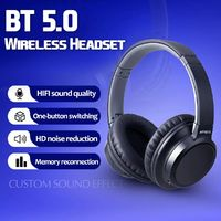 ARTISTE B20 Wireless bluetooth 5.0 Headset HiFi Noise Cancelling Headphone for Phone PC
