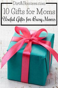 Gifts for Moms who are too busy to make their own wish list! Here are useful things that she'll really want. No DIY mom gifts here