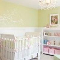 Bedding - Kate Collection by Serena & Lily- great colors for a baby girl nursery