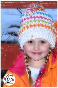 Love this Jelly Bean Slouch Hat - free pattern