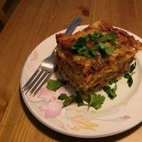 Healthier World's Best Lasagna Allrecipes.com (ground turkey)