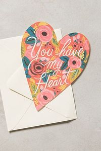 You Have My heart Rifle Paper Card