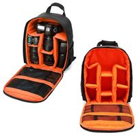 Waterproof DSLR Camera Backpack Photography Shoulder Bag Case for Canon Nikon R$85.13