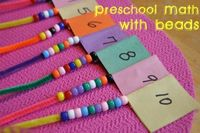 Preschoolers often learn how to count before they can actually identify the actual written number.