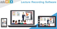 Edumix is a Lecture Recording Software which can build and captures your video for your important lectures. One can easily record the lecture through Edumix Lecture Recording Software and further publish that one to the website so that the student can gra...