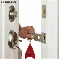 Portable Door Safe Lock for Travel Lock Anti Theft Hardware Security Privacy Hotel Home $25.50